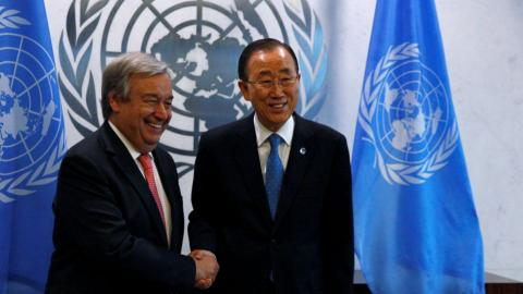 Portugal's Guterres appointed as new UN Secretary-General