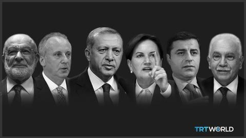 Six candidates approved to contest Turkey's presidential election