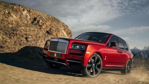 Rolls- Royce enters SUV world by launching 'Cullinan'