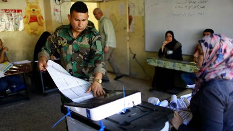 Iraq heads to the polls but people still feel unsafe