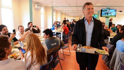 US says it backs Argentine President Macri's economic reform program
