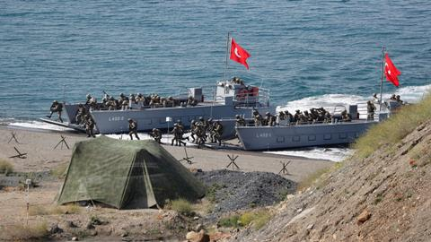 Turkey holds EFES 2018 military drill with allied countries