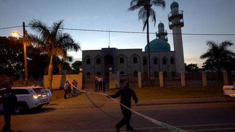 SA police investigate extremist element in mosque attack