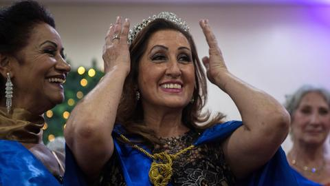 Brazil holds beauty contest for elderly ladies