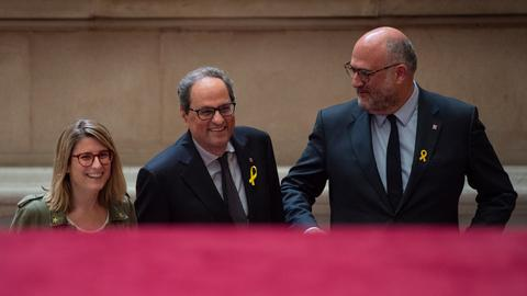 Catalan parliament to vote on Puigdemont successor on Saturday