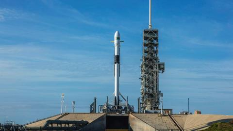 SpaceX launches most powerful Falcon 9 yet