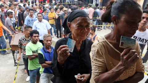 East Timorese vote in second election in less than a year