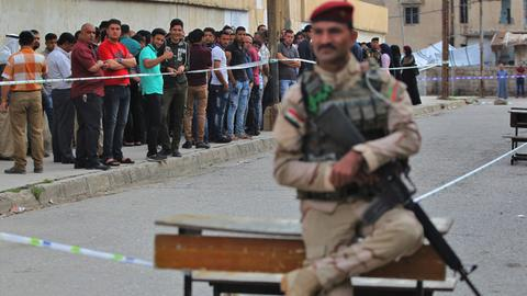 Iraq's landmark elections in pictures