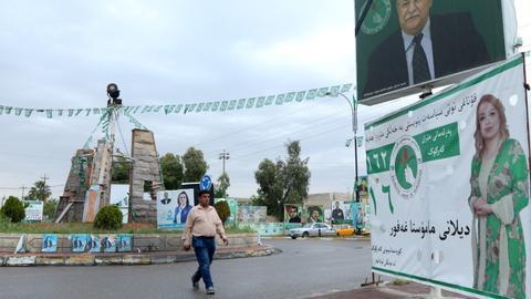 Kirkuk on edge amid Iraqi elections