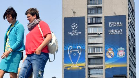 Hotels in Kiev charging 100 times standard rates for Champions League final