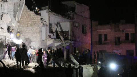 Blast in Syria's Idlib kills 12 civilians