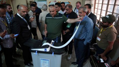 Iraq counts votes after first election since Deash defeat