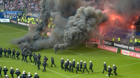 Hamburg relegated from the Bundesliga after 55 years