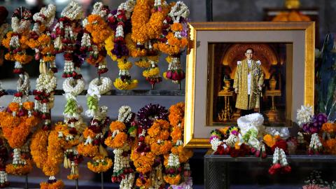 Thailand mourns loss of King Bhumibol