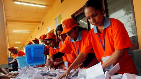 East Timor opposition coalition heads for victory