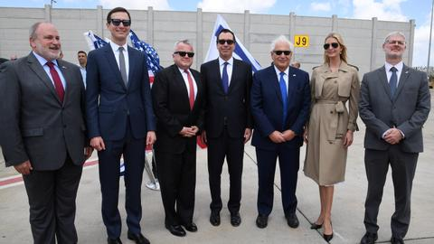 Tensions flare as Israel welcomes US delegation for embassy opening