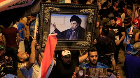 Iraq's Shia cleric Sadr front-runner in partial election results
