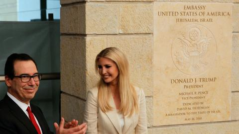 US officially opens embassy in Jerusalem