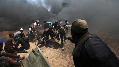 Israel kills 58 Palestinians in wake of US embassy opening in Jerusalem