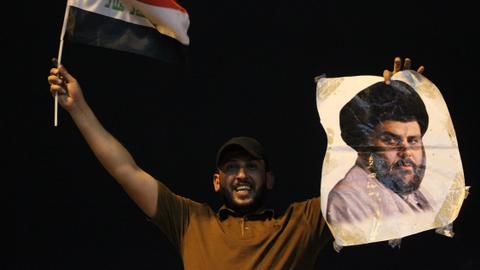 Coalition led by Muqtada al Sadr wins Iraqi election