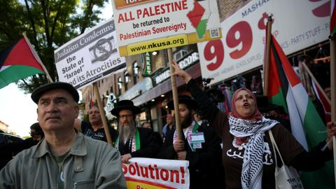 In Pictures: The world stands in solidarity with Palestine