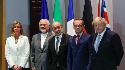 US isolated as Iran and EU's unity on nuclear deal takes shape