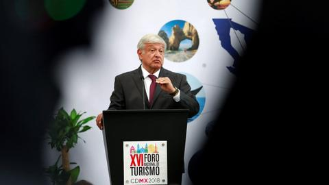 Polls say Mexican leftist frontrunner extends lead for presidency