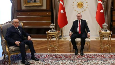 A merger between Turkey's AK Party and nationalist MHP on cards