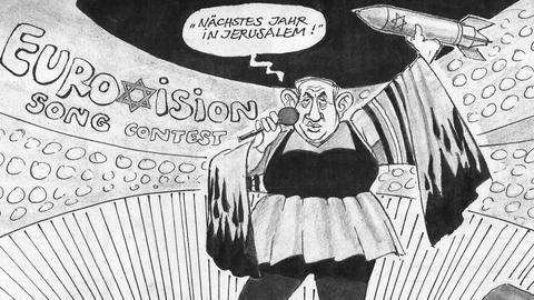 German newspaper drops cartoonist after Netanyahu drawing