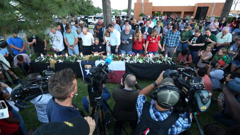 Families, survivors mourn Texas school shooting victims