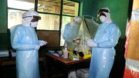 Congo says three new Ebola cases confirmed in large city