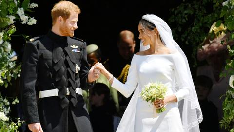 Britain's Prince Harry weds Meghan Markle