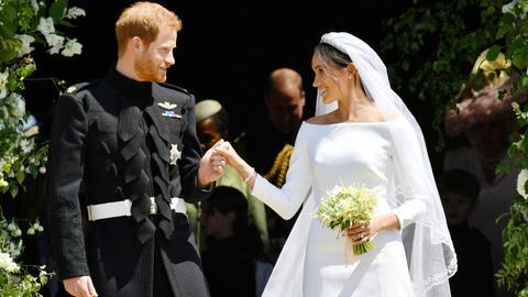 Britain's Prince Harry weds Meghan Markle