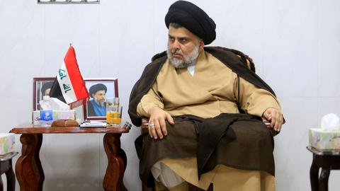 Cleric Muqtada al-Sadr's bloc wins Iraq election