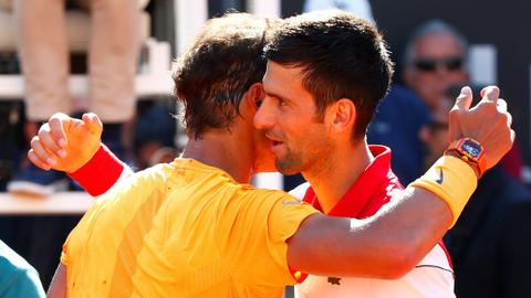 Nadal beats Djokovic to reach 10th Rome Masters final