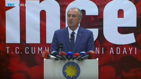 Turkey's CHP candidate unveils manifesto at election rally