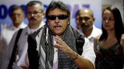 FARC leader wanted in US suspends hunger strike