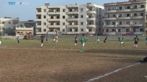 Sport and stability return to Syria's Afrin
