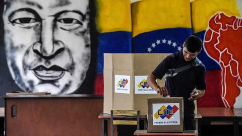 Maduro favoured as Venezuelans vote amid crisis