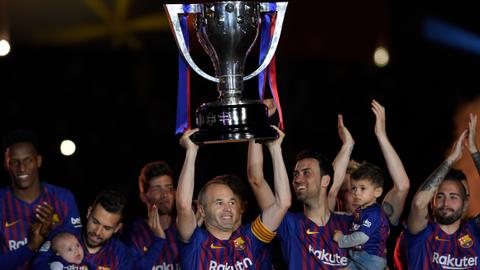 Iniesta and Torres depart Barcelona and Atletico in style