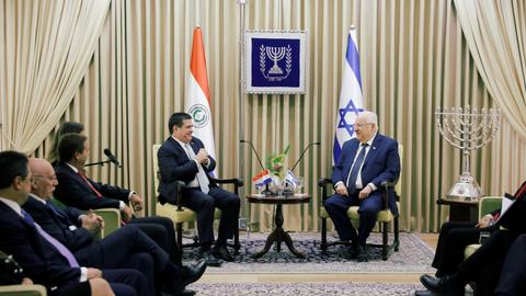 Paraguay opens its Israel embassy in Jerusalem