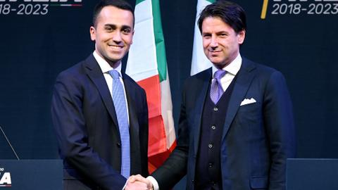 Italy's populist Five Star Movement proposes Giuseppe Conte as PM