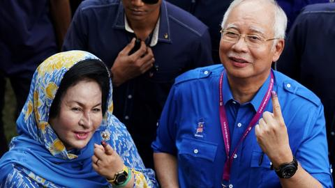 Malaysia's embattled Najib faces questioning by anti-corruption agency