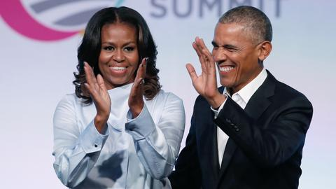 Barack and Michelle Obama sign Netflix production deal
