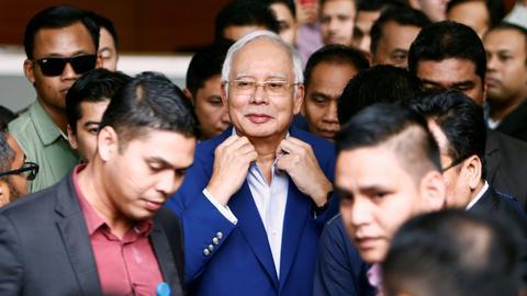 Malaysia's Najib Razak testifies in court