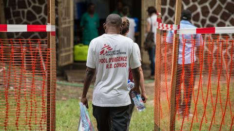 Three Ebola patients escape from Congo hospital, two had help from family