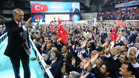 Turkey aims to be among high-income countries, says Erdogan