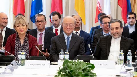 Iran seeks assurances from EU powers on nuclear deal after US pullout