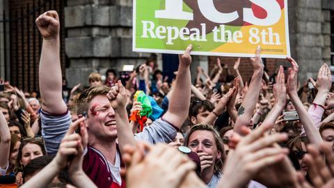 Ireland ends abortion ban in landslide vote