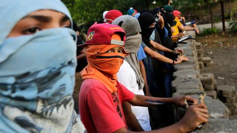 Eight killed in Nicaragua protests
